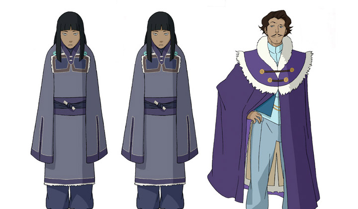 The Legend of Korra Book 2 Characters