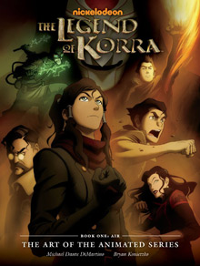 The Art from The Legend of Korra