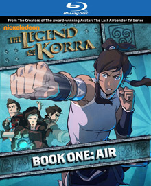 The Legend of Korra Blu-ray